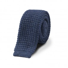 BLUE STORM KNITTED TIE
